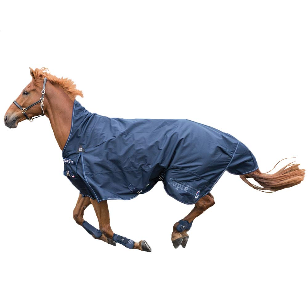 bluee 72 bluee 72 Horze Supreme Avalanche Pro Mid Season Turnout Blanket 150 grams