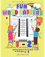 Fun Word Ladders Grade 1-2: Daily Vocabulary Ladders Grade 1 - 2, Spelling Workout Puzzle Book for Kids Ages 6-7