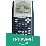 Texas Instruments TI-84 Plus Graphics Calculator, Black (Renewed)