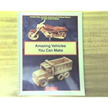 Amazing Vehicles You Can Make: Includes Plans, Assembly Drawings and Full-Sized Patterns for Eight Different Models by Luc St-Amour (1996-08-02)