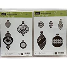 Stampin Up ORNAMENT KEEPSAKES clear mount stamps Chrismas Ornaments NEW