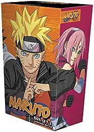 Naruto Box Set 3, Volume 3: Volumes 49-72 with Premium