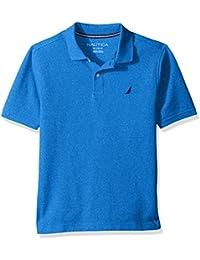 Boys' Short Sleeve Deck Marl Polo
