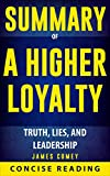 "Concise Reading offers an in-depth and comprehensive encapsulation of ""A Higher Loyalty: Truth, Lies, and Leadership"" by James Comey, former FBI director who shares his never-before-told experiences in the past two decades. This summary helps you to ..."