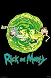 """Amazon Price History for:Trends International Rick and Morty Portal Prints, 22.375"""" x 34"""""""