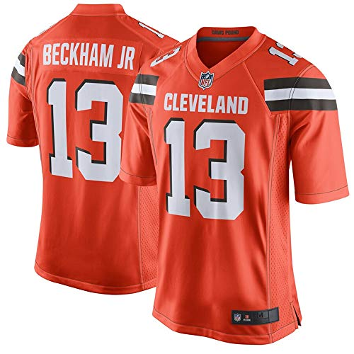 #13 Odell Beckham Jr Cleveland Browns Game Jersey - Orange L