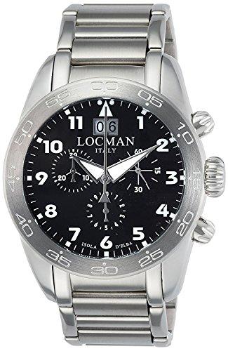 LOCMAN watch ISOLA D'ELBA 0460A01-00BKWHB0 Men's