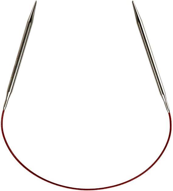 :Stainless Steel Red Circular Needles: 6.00 mm 40 cm 10 US 16 in ChiaoGoo