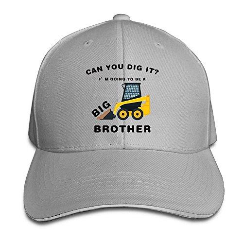 Unisex Big Brother Cool Classic Plain 100% Baseball Hat Modern Design - Tumblr With Bush Men
