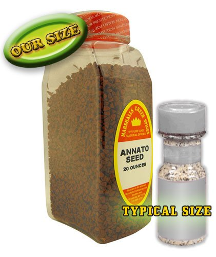 Marshalls Creek Spices XL Size Marshalls Creek Spices Annato Seed Seasoning, 20 Ounce, 20 Ounce