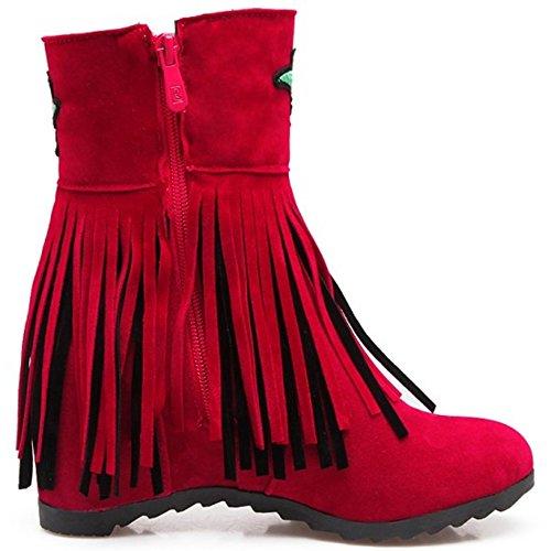 Botines Clasicos Red RAZAMAZA Mujer para 4ganx