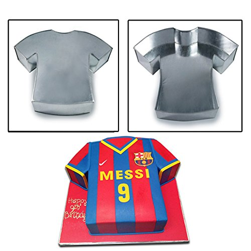 T-Shirt Shape Birthday Wedding Anniversary Cake Tins / Pans / Mould by Falcon