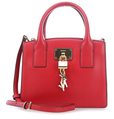 DKNY Elissa Bolsas de hombro rojo