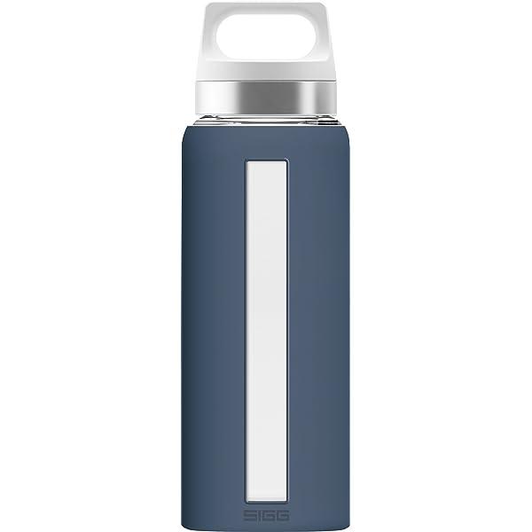 Sigg sueño de Cristal Botella de Agua con empuñadura de Silicona ...