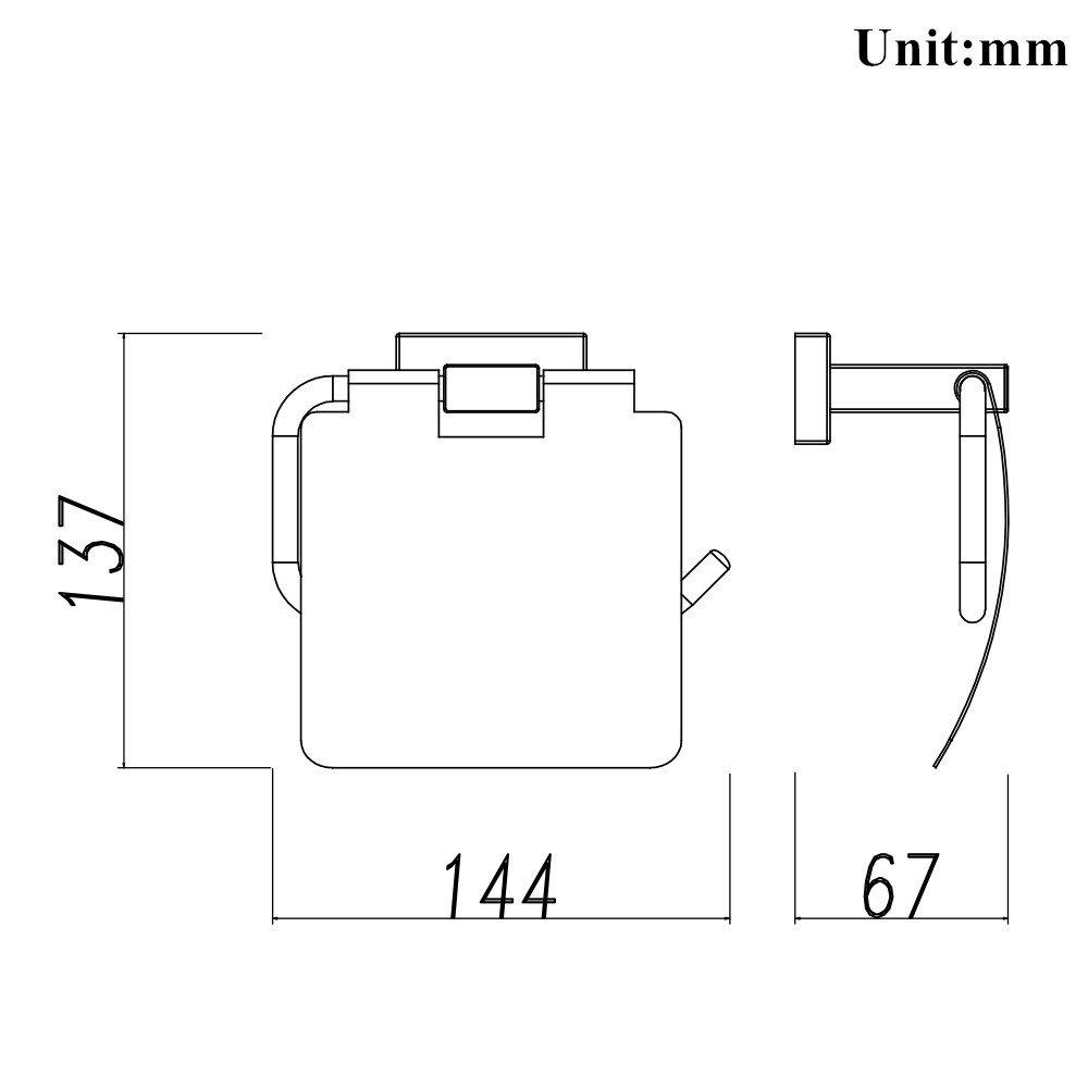 lucidato Finitura Cromata,25.5*8.1*3.5 cm Anelli Portasciugamani /… QiuQiu 25cm in Acciaio Inossidabile Porta Salviette Portasciugamani lungo portasciugamani