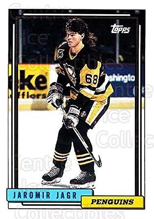 Amazoncom Ci Jaromir Jagr Hockey Card 1992 93 Topps
