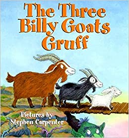 Image result for the 3 billy goats gruff