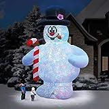 Hammacher Schlemmer The 18' Frosty The Snowman Lightshow