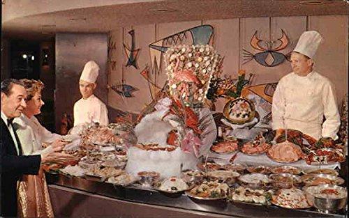 A Fantastic Chuck Wagon Midnight Buffet Las Vegas, Nevada Original Vintage Postcard