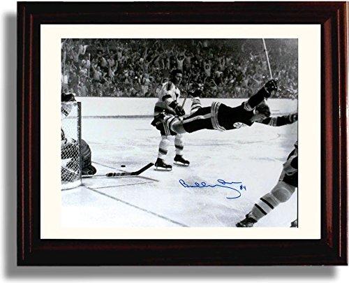Framed Bobby Orr
