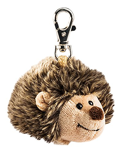 Amazon.com: Rudolph Schaffer Iggy Hedgehog Keychain Soft Toy ...