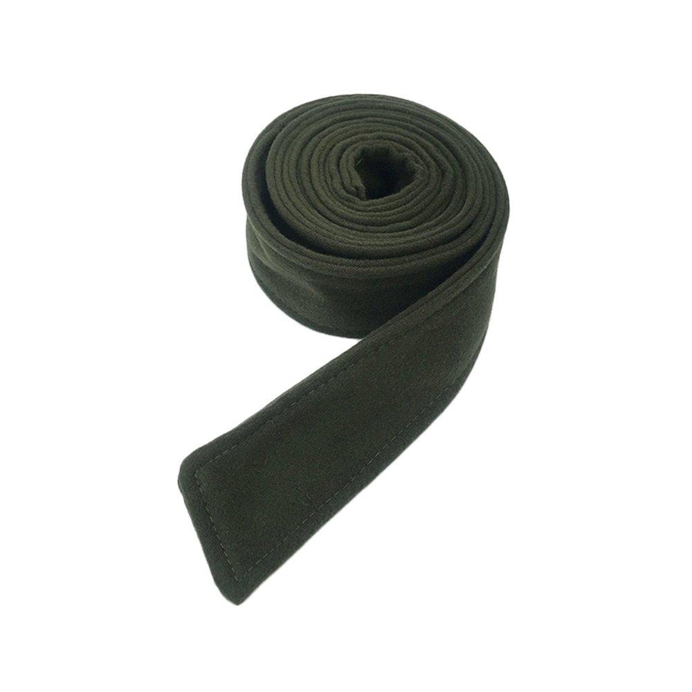 Anjing 5cm Width Wool Woman Ladies Waist belt for Coat Dress Zhi Jin