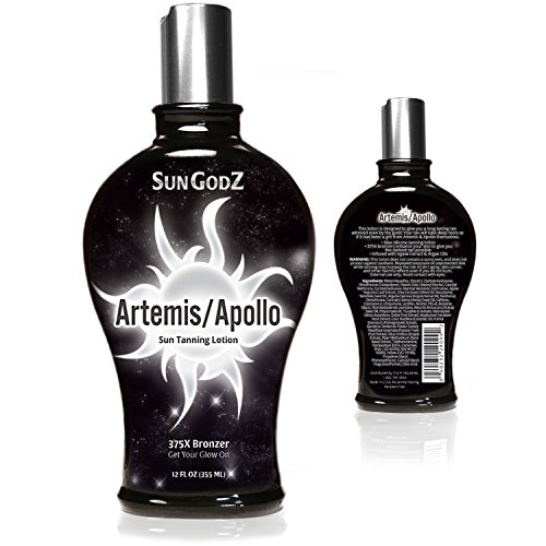 Indoor Tanning Lotion with Bronzer for Indoor Tanning Beds - Dark Tan Accelerator and Pro Tan Lotion Uses the Best Bronzer & is the Luxury Sunless Tanning Lotion for Skin Tanning - Highest Quality (Best Natural Indoor Tanning Lotion)