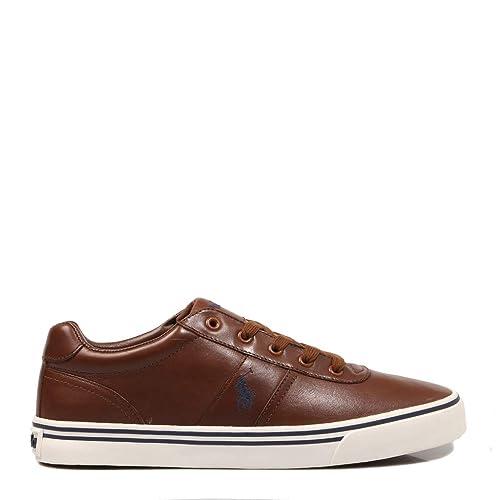 Polo Ralph Lauren, Hanford Leather Tan, Zapatillas para Hombre ...