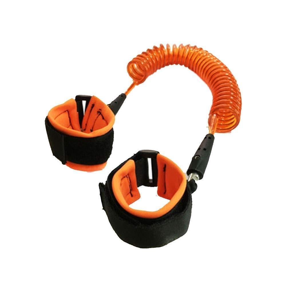 Children's Anti-Lost Rope, Safety Child Wrist Chain (Color : Orange)