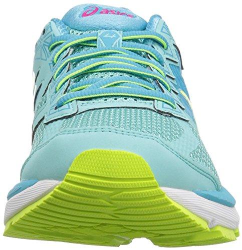 ASICS GT Shoe Aruba Running Aquarium 2000 Yellow Blue Safety Womens 4 pr5qXpw