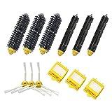 LOVE(TM)3-Armed Side Brush Bristle Brush Hepa Filter Kit for Robot 700 Series 750 760 770 780 790 Vacuum Cleaner Parts