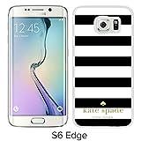 Samsung Galaxy S6 Edge Kate Spade White Screen Cellphone Case Genuine and Customized Design