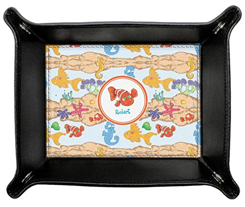 Under the Sea Genuine Leather Valet Tray (Personalized) by RNK Shops