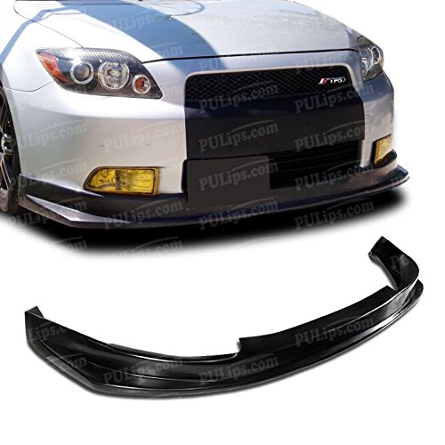 Bumper Front Style Lip - PULIps SCTC05TSFAD - TS Style Front Bumper Lip For Scion tC 2005-2010