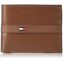Tommy Hilfiger Men's Leather Ranger Passcase Wallet