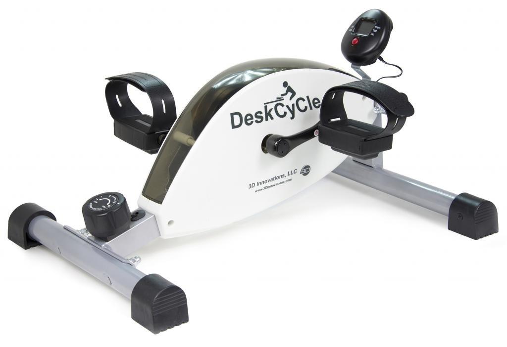 DeskCycle Ejercitador de pedales para mantener bajo el escritorio Resistencia mágnetica Color