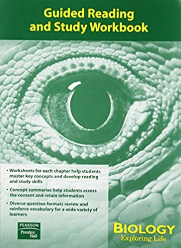 amazon com exploring life guided reading and study workbook 2004c rh amazon com guided reading and study workbook chapter 11 biology guided reading and study workbook chapter 4 biology answers