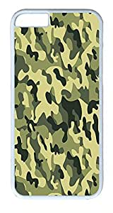 IMARTCASE iPhone 6 Case, Camo iPhone 6 Case TPU White