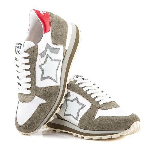 Atlantic Stars P/E 18 Sneakers Uomo Sirius BS-Pr-LSGB White (42)