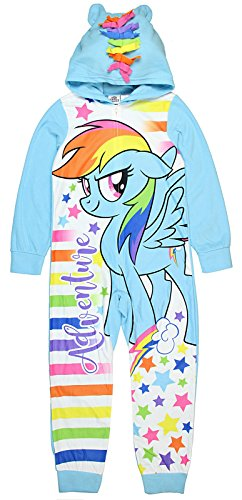 My Little Pony Union Suit for Girls Pajamas Costume Dress Up Pjs Large 10/12