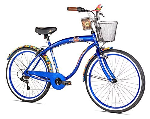 Margaritaville Coast Is Clear Men's Beach Cruiser Bike 26-Inch [並行輸入品] B06XFGBB5B