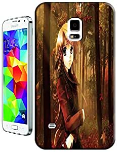 Beautiful forest sexy girl Lady Cartoon cell phone cases for Samsung Galaxy S5 i9600