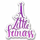 2 x 30cm- 300mm A Little Princess Vinyl SELF ADHESIVE STICKER Decal Laptop Car Travel Luggage Label Tag #9779