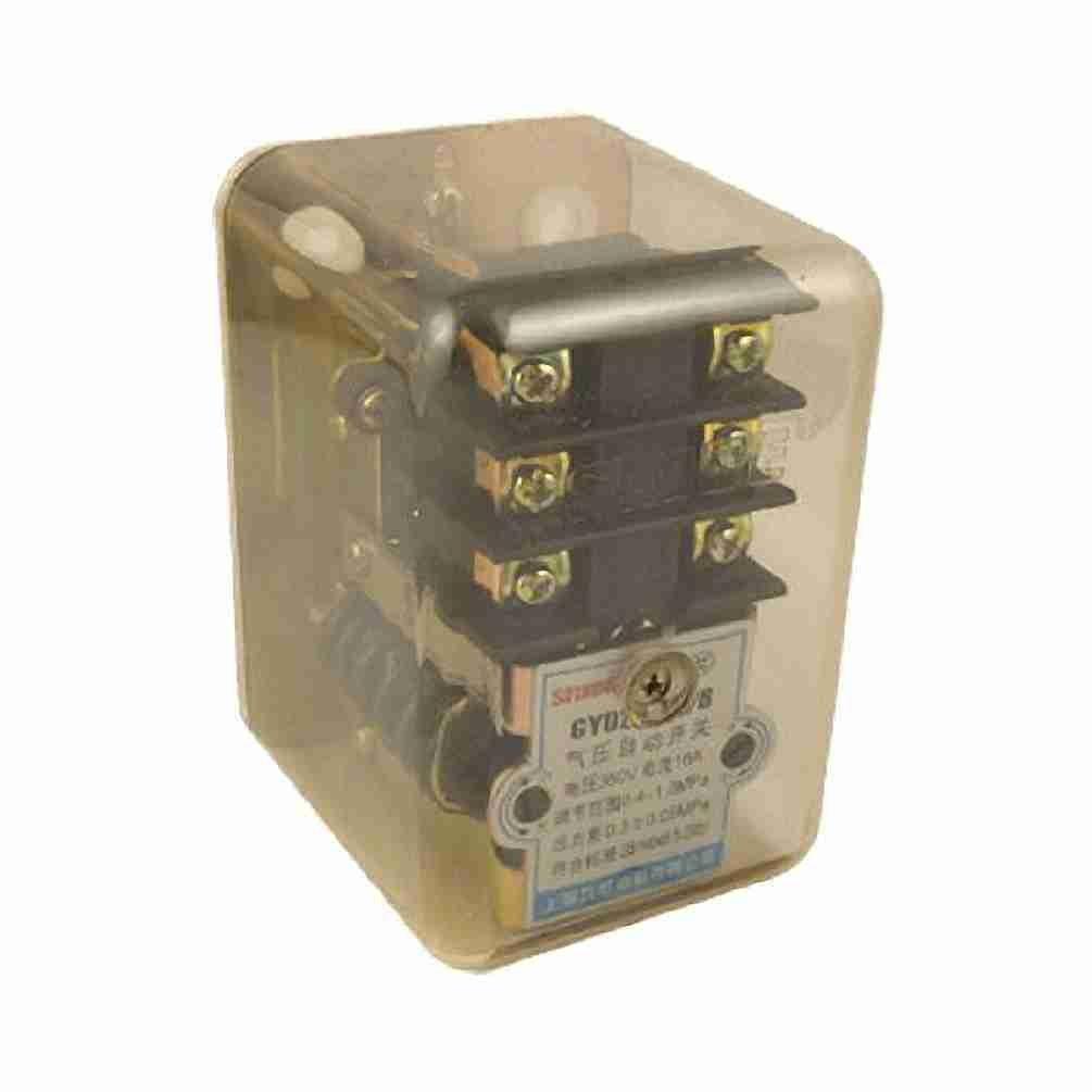 TTcity AC 380 V 16A 95-125PSI 1 Port válvula reguladora-Presostato ...
