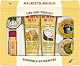 Burt's Bees Tips and Toes Kit Gift Set, 6 Travel