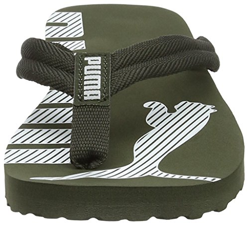 puma Adulto Chanclas 25 Unisex Puma V2 White Night Forest Flip Epic Verde PtwqwXzI