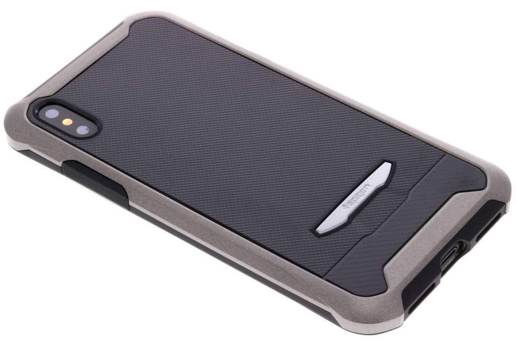 timeless design 1cc35 ab97a Spigen Reventon Case with Tempered Glass for iphone X - Gun Metal