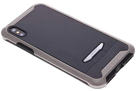 timeless design 0040c d0128 Spigen Reventon Case with Tempered Glass for iphone X - Gun Metal