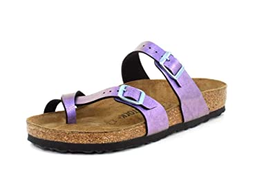a12f76d3b562 Image Unavailable. Image not available for. Color  Birkenstock New Women s Mayari  Sandal Graceful Gem Violet ...