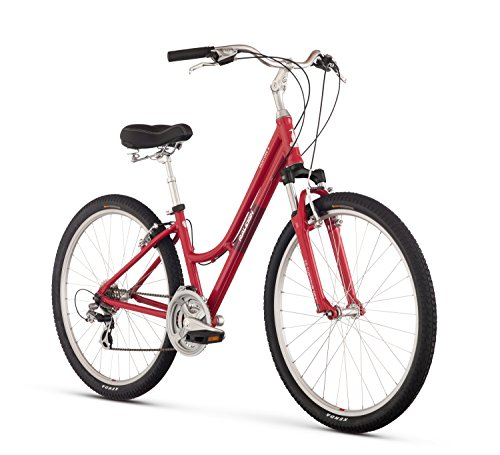 "Raleigh Bikes Venture 4.0 Step Thru Comfort Bike, Pink, 15""/Small"